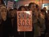 REPORTAJE: 'No estamos ciegos', manifestación para exigir el fin de la guerra enSiria